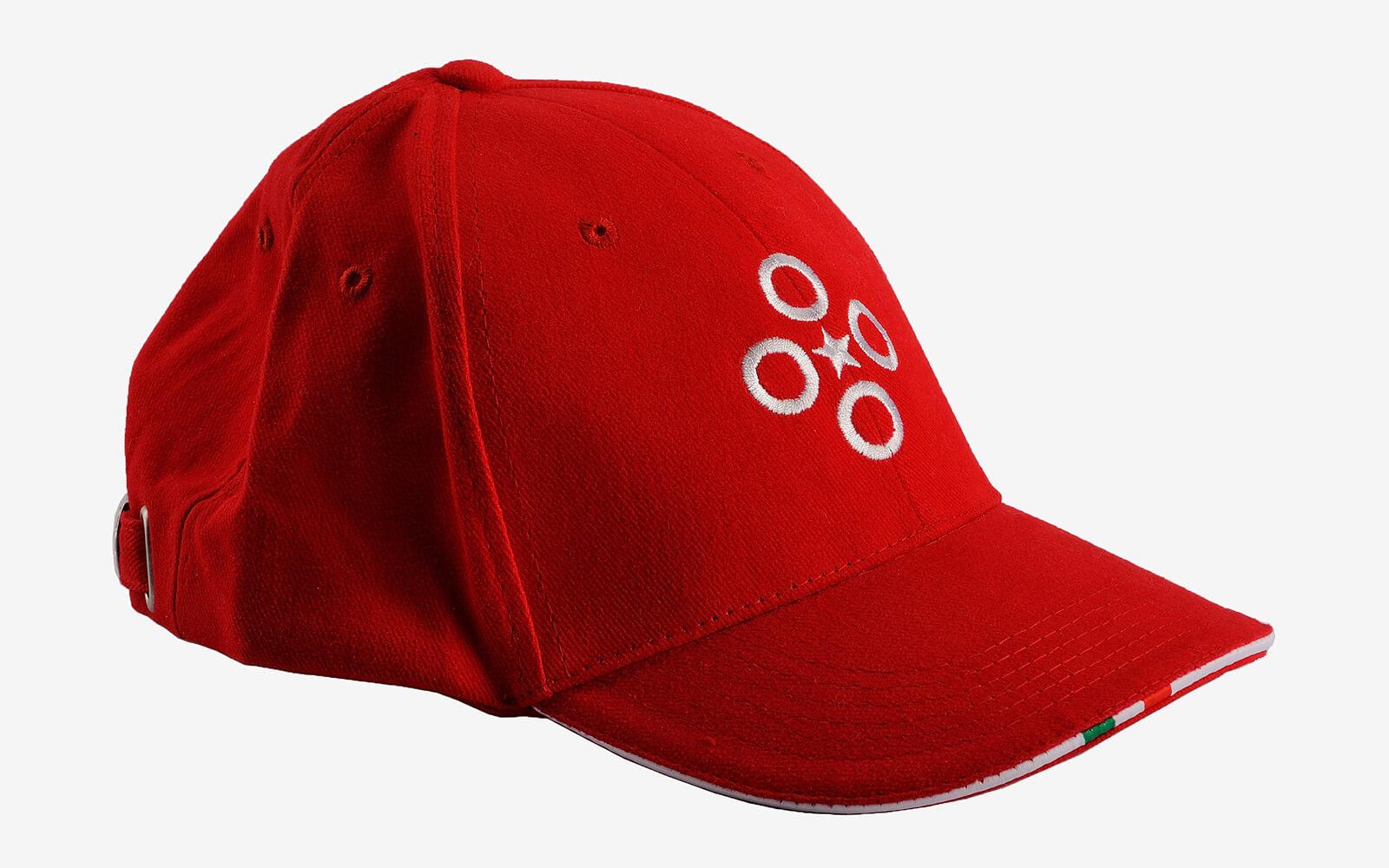 company logo emrboidered cap