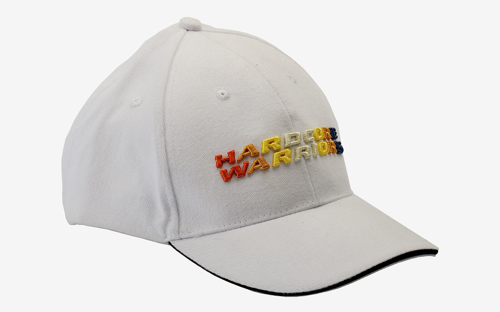 3D logo embroidered on fron cap